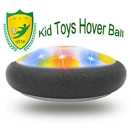 JRD&BS WINL Hover Football Toy FÜR Kinder, Geburtstagsgeschenk für Mädchen 4-8 Jahre Alt, Spielzeug FÜR 10 Jahre Alten Jungen Präsentiert Spiele Im Freien Mit Freunden(Gelb 02)