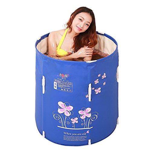 Bathtub PHTW HTZ Baño Plegable Baño Adulto baño de Espesamiento barriles de...