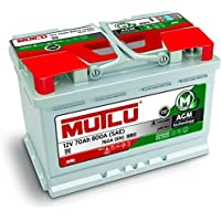 Mutlu 115 AGM Car Battery 12V 80Ah 850A (SAE) 800A (EN) preiswert