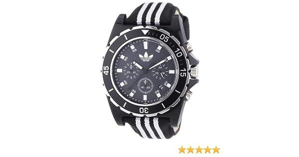 adidas Herren Armbanduhr XL Stokholm Chronograph Quarz Textil ADH2664