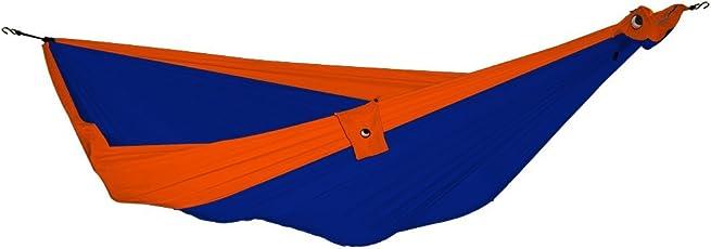 TICKET TO THE MOON Hängematte, King size - royalblau/ orange