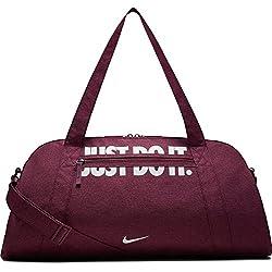 Nike Damen Sporttasche Gym Club, Rush Pink/White, 56 x 23 x 30.5 cm, BA5490-667