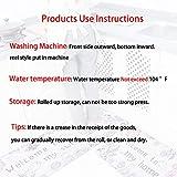 Leebei Küchenmatten Anti-Rutsch Waschbar Flanell Fußmatte Innenbereich Teppiche Küchenteppich Küchenläufer Matte (Küche, 15,7×23,6 Zoll + 15,7×47,2 Zoll) - 6