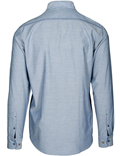 Basefield Herren Freizeithemd Modern Fit - Faded Blue (219011060) 602 FADED BLUE