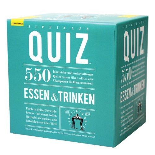 Kylskapspoesi 40027 - Jippijaja Quiz: Essen und Trinken