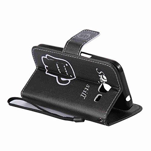 Guran® PU Leder Tasche für Apple iPhone 6 / 6S (4,7 Zoll) Smartphone Flip Deckung Stehen Funktion und Karte Slot Case-Löwenzahn -Mädchen color1