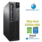 PC Lenovo ThinkCentre M83 SFF Intel Pentium G3220 3.0GHz 8Gb Ram 250Gb Windows 10 Professional con Licenza Nuova Simpaticotech MAR Microsoft Authorized Refurbisher (Ricondizionato)