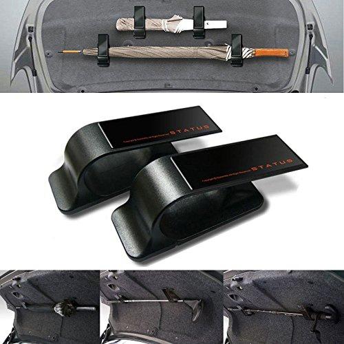 Auto KFZ Multifunktionshaken Schirmhalter Kleiderbügel für Kofferraumdeckel, universal