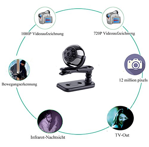 Tangmi 1080P HD Mini-Kamera - 5