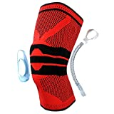 1PCS Basket Basket Rack Pad Staffa Supporto Protector SportGinocchiere protettive - Rosso, XXL