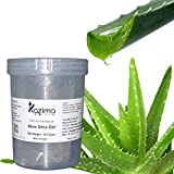 #8: KAZIMA Aloe Vera Gel Raw - 100% Pure Natural Gel - Ideal for Skin Treatment, Face, Acne Scars, Hair Treatment, Moisturizer & Dark Circles (250 Gram)