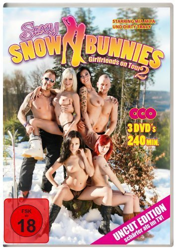 Sexy Snow Bunnies - Girlfriends on Tour Vol. 2 (3-Disc Uncut Edition) [3 DVDs] [Edizione: Germania]