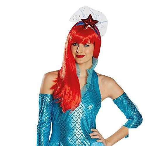 Kostüm Zubehör Haarreif Seestern Meerjungfrau Nixe Karneval Fasching (Seestern Kostüm Für Kinder)