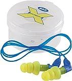 3M E-A-R Ultrafit X Gehörschutzstöpsel mit Kordel - SNR 35 dB (A) 50 Paar (Spenderbox)