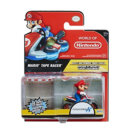 Nintendo Super Mario Tape Racer Spielset (Super Mario Brothers Geburtstag)