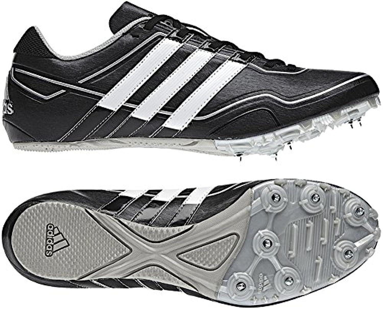 Adidas Sprint Star 2 m spike para unisex/G43327 color: negro/blanco