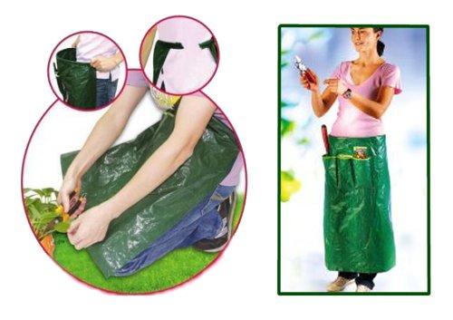 FIX Clip Gartenschürze Schürze Gartenkleidung Gartenhose m. Gerätehalter Taschen