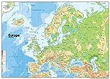 A1 Europe físicas papel Inglés [GA] incluye Pin laminado