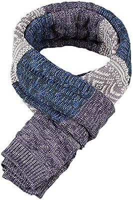 Bufanda de Hombre la tela escocesa cozy Lana Abrigo Del Mantón cuello bufanda Regalos para Hombre unisexo