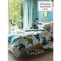 Catherine Lansfield Dino Easy Care Single Duvet Set Multi
