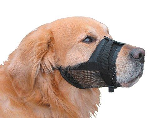 nobby-nylon-adjustable-muzzle-for-dog-m-size-2-18-24-cm-black