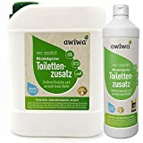 awiwa Sanitärflüssigkeit für Campingtoilette & Toiletten-Zusatz Chemie WC, 1 l