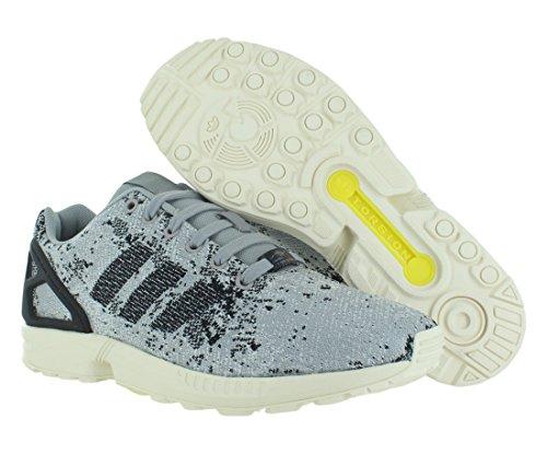 Adidas Zx Flux Weave Hommes Chaussures de course taille US 8, Largeur réguliÚre, Couleur Noir / gr Moon Surface Cement