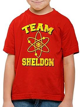 CottonCloud Sheldon Atom Team Camiseta para Niños T-Shirt