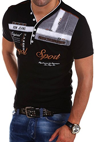 MT Styles 2in1 T-Shirt ROYAL R-2206 Schwarz