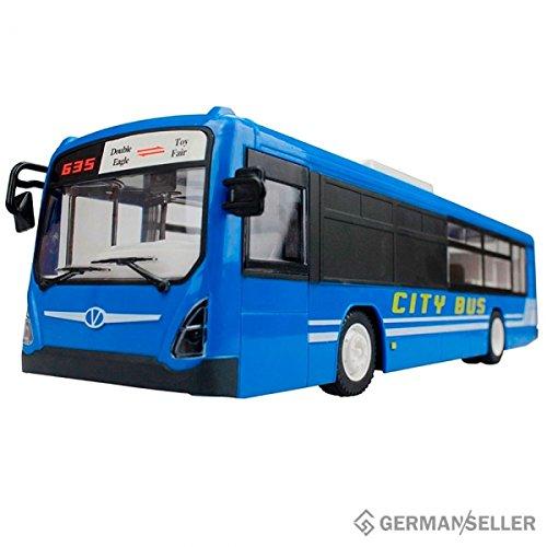 RC ferngesteuerte Bus Car Auto Frontlicht und Soundeffekte Türen öffnen/schließen Linienbus 2.4 Ghz