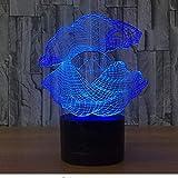 Madre Perla Luz Nocturna 3d LED 7 Cambio de color Shell Lámpara de mesa de escritorio Instrumentos musicales Muebles Lámpara de diamante como REGALO