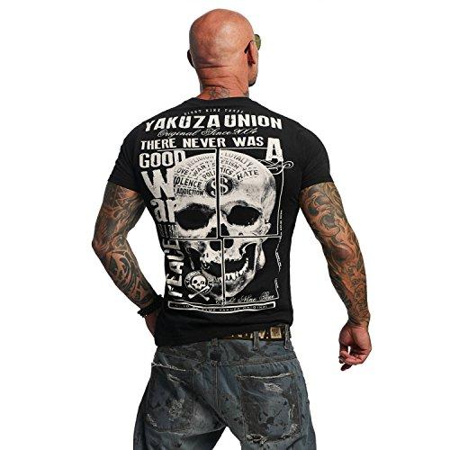 Yakuza Original Herren 893 Union T-Shirt Schwarz