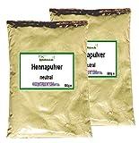 Henna Pulver neutral (2x 500 g) Hennapulver Haarfarbe natürliche Haarpflege 1000g 1kg