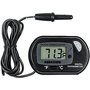 [Gesponsert]Zacro LCD Digitales Wasser Thermometer für Terrarium,Aquarium und Vivarium