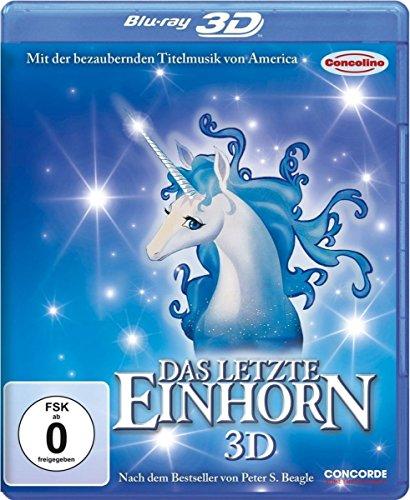 Das letzte Einhorn 3D (Zum 30 Jährigen Jubiläum 2D und 3D Version auf einer Disc) [Blu-ray 3D]