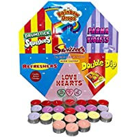 Swizzels Tea Light Scented Candles & Holder Advent Calendar