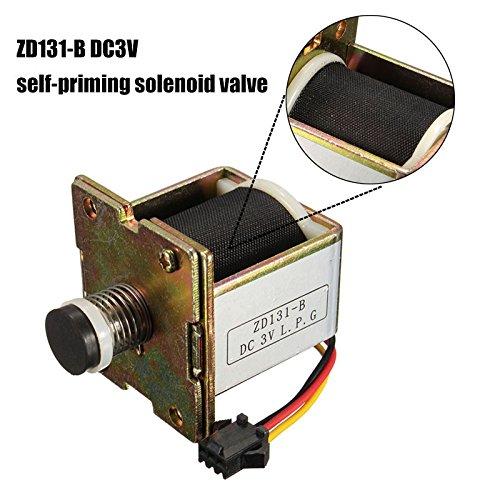 Bureze Macro Kupfer DC 3 V Gas Warmwasserbereiter Magnetventil Selbstansaugendes Ventil Warmwasserbereiter Zubehör - Heizung Ventil Magnetventil