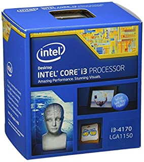 Intel BX80646I34170 - Core i3 (4170) 3.7GHz Processor 3MB L3 Cache 5GT/s Bus Speed (Boxed) (B00VHKZ6I8) | Amazon price tracker / tracking, Amazon price history charts, Amazon price watches, Amazon price drop alerts