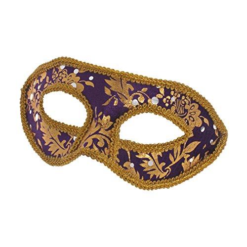 ske Violett mit Goldverziehrung (Einfache Und Günstige Halloween-kostüme Für Kinder)