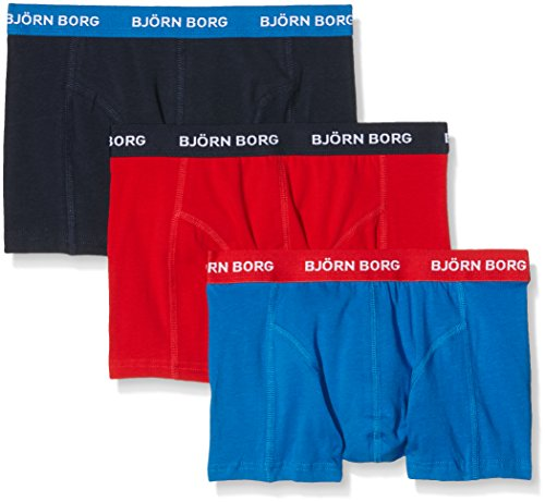 bjorn-borg-noos-contrast-solids-pack-of-3-boxer-homme-multicoloured-skydiver-x-small