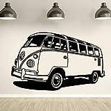 stickers muraux stickers muraux chambre Voiture Volkswagen Camper Van Style de bus Camper Tribute Auto