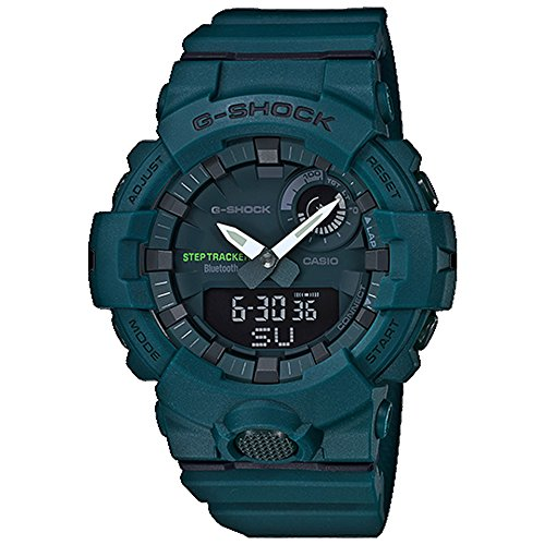 G-Shock Men's Analog-Digital Bluetooth GBA800-3A Watch Green