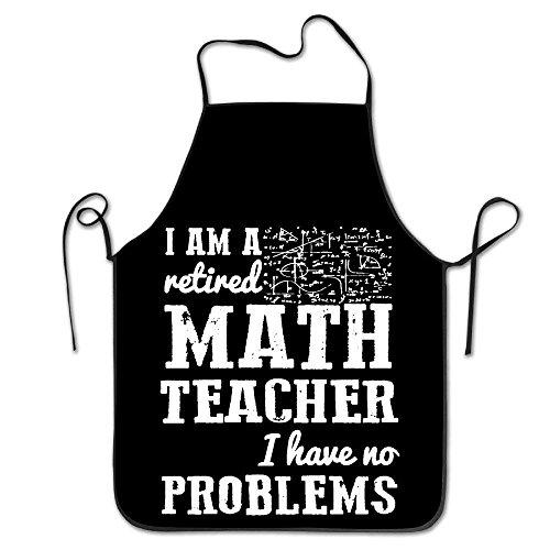 Delantales cocina personalizados Soy maestro matemáticas