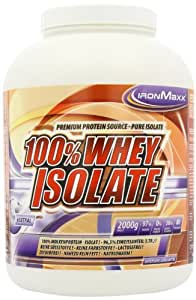 Ironmaxx 100 % Whey Isolate, Neutral, 1er Pack (1 x 2kg)