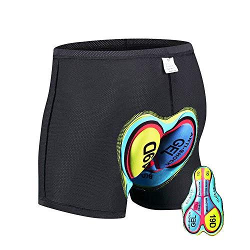 HTTOAR Calzoncillos Bicicleta Ropa Interior Pantalones