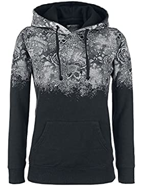 Rock Rebel by EMP Promises Jersey con Capucha Mujer Negro