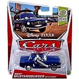 Disney Cars Cast 1:55 - Coche y Vehículos Modelos de 2013 a Elegir - Brent Mustangburger - WGP
