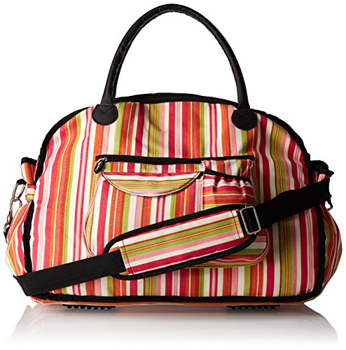 sassy-caddy-womens-sunny-fitness-tote-bag-hot-pink-lime-green-orange-white