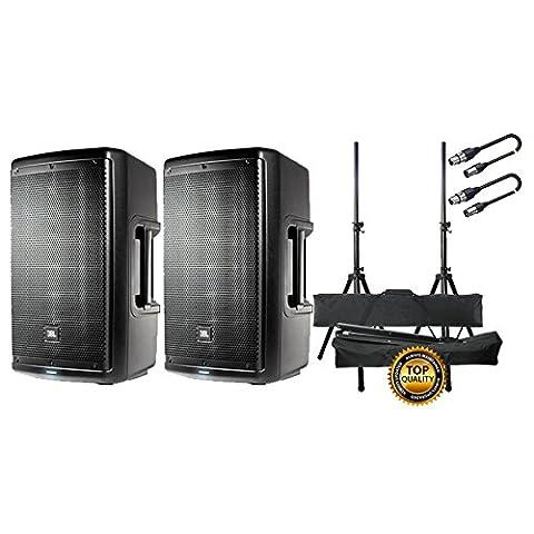 JBL Set Aktivlautsprecher/Halterungen/Kabel XLR/XLR 10mt Bundle