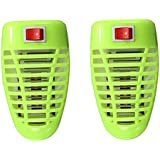 Power Killer Indoor Mosquito Killer - UV Light Mini Insect Killer, Plug-in Mosquito Zapper Coverage Mosquito Trap Bug Zapper, Powerful 5 Watts Electronic Insect Killer Lamp, Ideal For Bedroom Nursery (Pack OF 2)